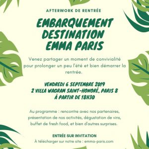 Afterwork Emma Paris